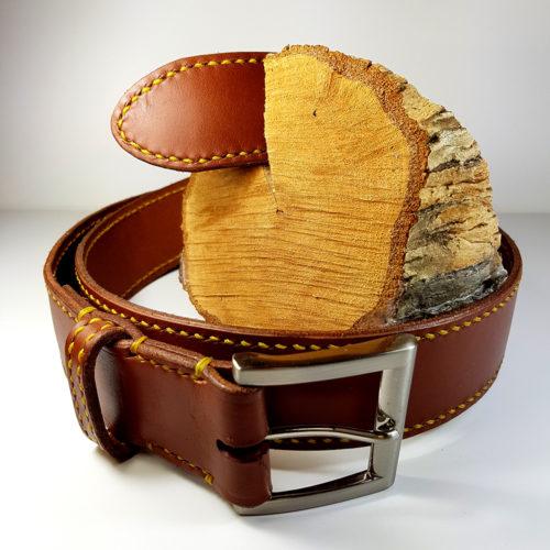 Cinturón de cuero caballero